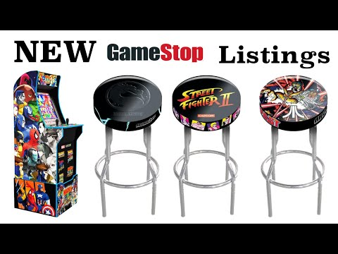 Arcade1Up NEW GameStop Listings from Original Console Gamer