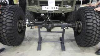 UAZ military axles from TARMOT 4x4 with torsen and CTIS system [ TARMOT 4x4 ]