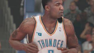 NBA 2K14 (PS4): Lakers vs Thunder - 3rd Quarter