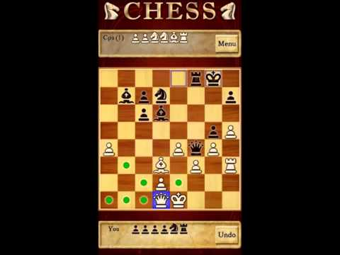 Watch and play android smart phone game chess 2013 HD
