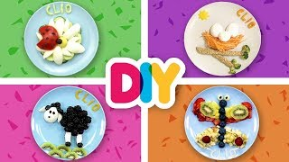 4 EASY Baby Food Art SPRING Snacks your Kids will Love | Healthy-n-Yummy | DIY Art & Crafts for Kids