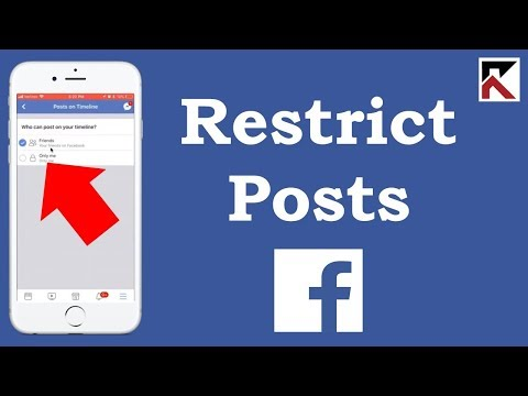 How To Stop People From Posting On Your Timeline Facebook App