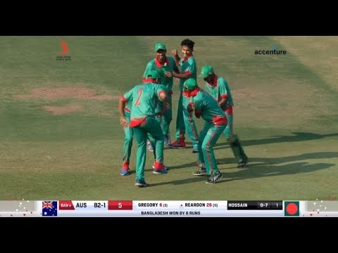 Bangladesh Vs Australia | Ban Won By 6 runs | Full Hd Match | Hong Kong World Sixes Cricket 2017