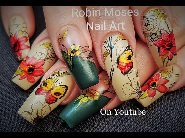 Fall Nails | DIY Autumn Nail Art for Divas 2018