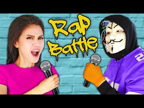 VY QWAINT Vs HACKERS In Rap Battle Royale! Spy Ninjas Compete In Rapping Roast Diss Track Challenge
