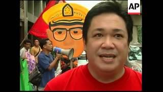 Anti-Myanmar protests in Manila