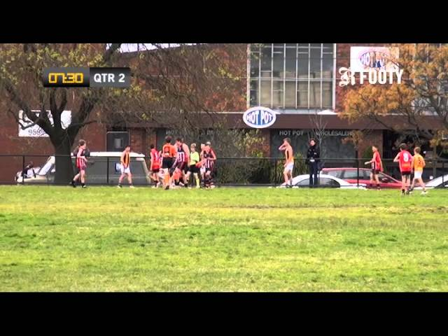2012 SMJFL Grand Final Under 12 West - St Kilda City Red v East Sandringham 2