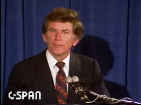 Presidential Candidate Gary Hart's 'Exit Speech