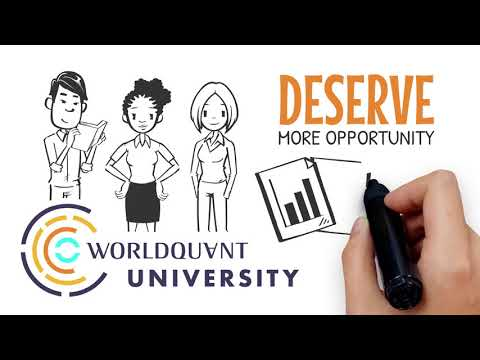 Our mission at WorldQuant University