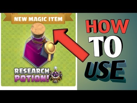 New Update Research Portion In Clash Of Clans