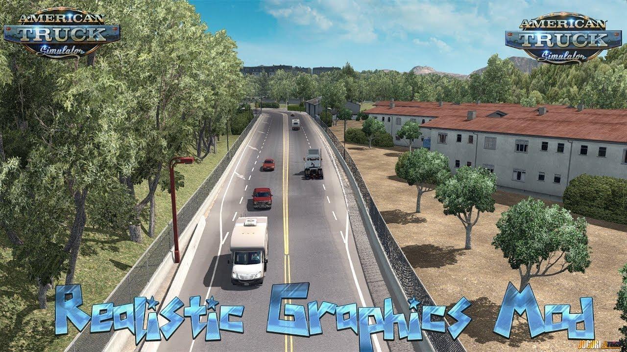 ATS - Realistic Graphics mod (Обзор мода)