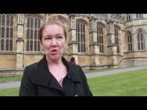 Claire Ridgway at Windsor Castle
