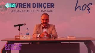 Emrah Safa Gürkan Söyleşi Aksaray Belediyesi Kitap Günleri