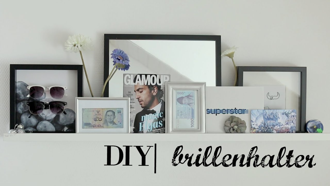 DIY ll brillenhalter - YouTube