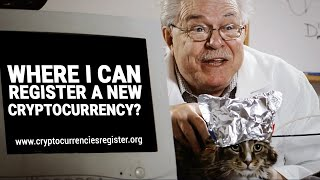 Where I can register a new Cryptocurrency?