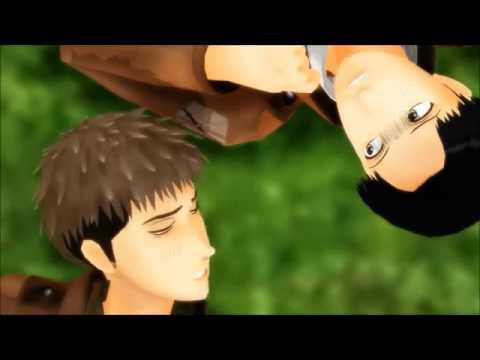【MMD】Shingeki No Kyojin CRACK  (Try not to Laugh)