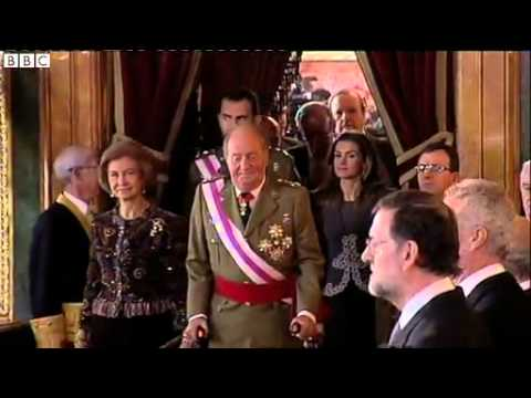 BBC News   King Juan Carlos of Spain abdicates