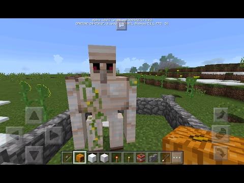 Tuto minecraft comment faire un golem de fer youtube - Minecraft golem de fer ...