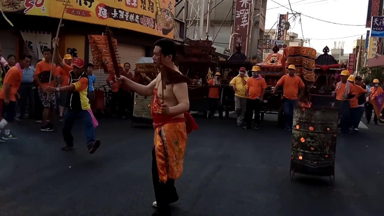 20170410嘉義民雄保生大帝廟保生大帝聖誕出巡遶境大典-路祭 - YouTube