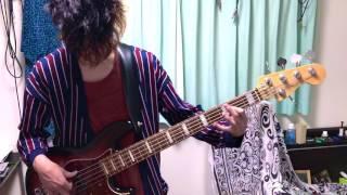 クリープハイプのイトをベースで弾いてみました 極力原曲に寄せましたが...
