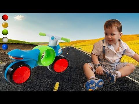 Cмотреть видео БегоВел каталка BabyGo Fashn Motocikl Распаковка Обзор Отзыв Характеристики Инструкция Детский Мир