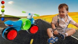 БегоВел каталка BabyGo Fashn Motocikl Распаковка Обзор Отзыв Характеристики Инструкция Детский Мир