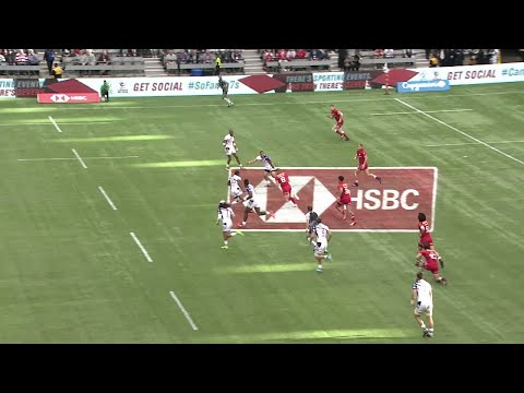 Seven of the best tries from the Canada sevens