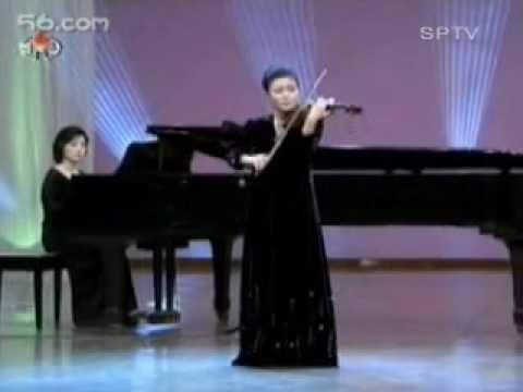 North Korea music Violin solo