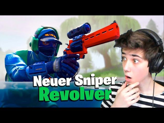 NEUER SNIPER REVOLVER IST DA in Fortnite!