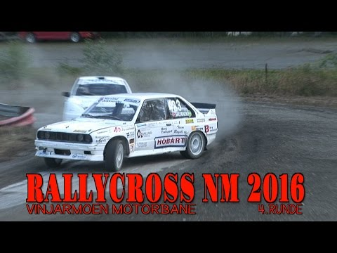Rallycross NM 2016 - 4.runde - Vinjarmoen