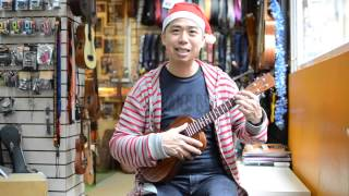 How to Play - Santa Claus is Coming to Town - Merry Ukulele Christmas