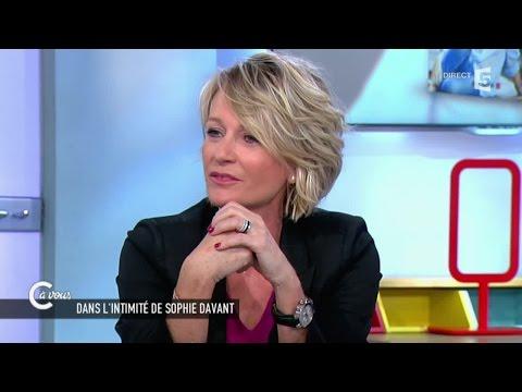 Sophie Davant sur la crise de la cinquantaine - C à vous - 09/03/2015