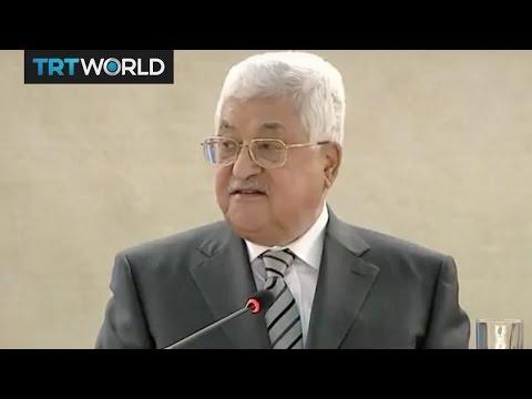 UN Human Rights Summit: Abbas: Israeli settlements plans dangerous