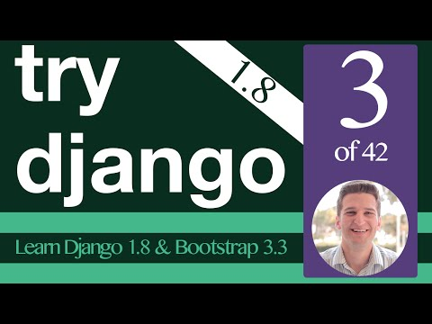 Try Django 1.8 Tutorial -  3 of 42 -  First Migration -  Learn Django