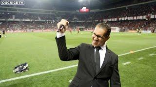 L'ovation des Niçois pour Hatem Ben Arfa