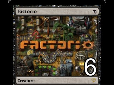 Factorio 6 | Getting oil and an alternative fuel source