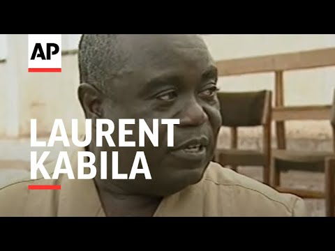 ZAIRE: SHABA PROVINCE: REBEL LEADER LAURENT KABILA SPEECH