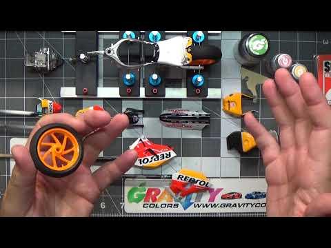 Tamiya Repsol Honda  RC213V 1/12 scale model kit build-up video by David Thibodeau,  Part 6
