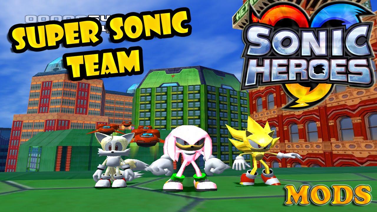 Скачать моды на игру sonic heroes