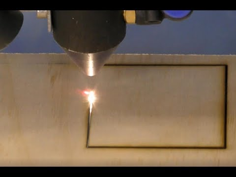216 -PTL6090 100 watt laser finding the right cut in plywood