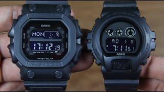 casio g shock gx 56bb 1a vs g shock dw 6900bb 1 bb edition side by side