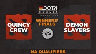 Quincy Crew vs Demon Slayers Game 3 - Dota Summit 11 NA Qualifiers: Winners' Finals