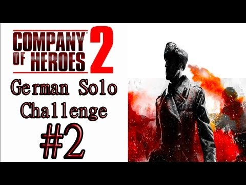 "Company Of Heroes 2 - (General Difficulty) - Theater Of War Solo Challenge: ""Officer Assassination"""