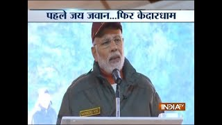 Diwali 2018: PM Narendra Modi addresses the Jawans of the Indian Armed Forces at Harsil