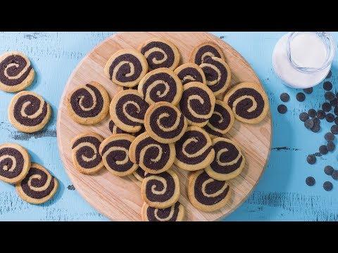 Generate Vanilla Chocolate Swirl Cookies Recipe Images
