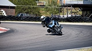 New water cooled 2013 BMW R1200GS, track test. If you liked old one, you will love new model.