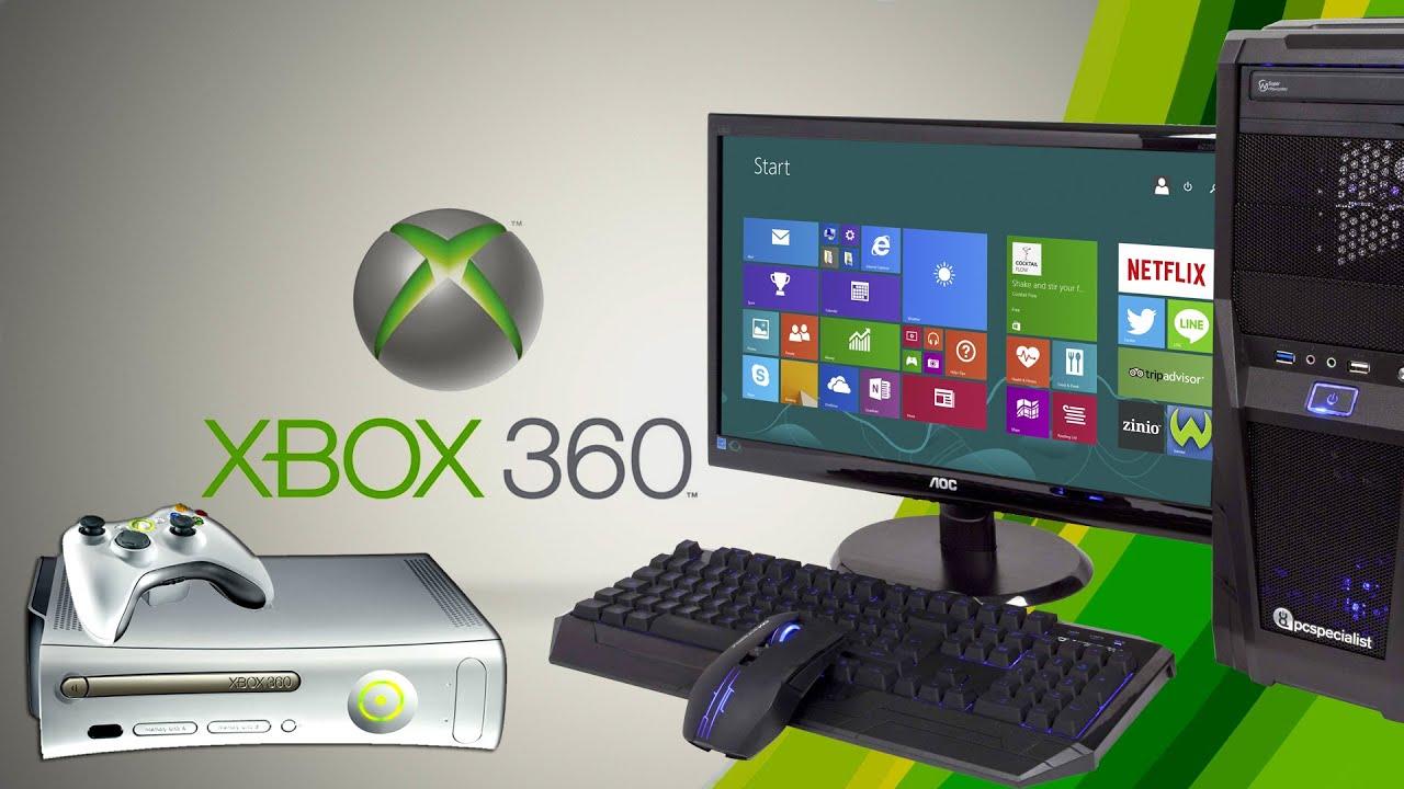 Xbox 360 скачать на компьютер