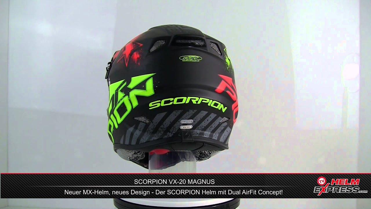 scorpion vx 20 magnus youtube. Black Bedroom Furniture Sets. Home Design Ideas