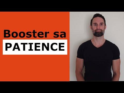 Comment apprendre à être patient?