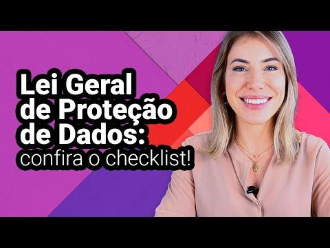LGPD NA PRÁTICA   CHECKLIST PARA LEI GERAL DE PROTEÇÃO DE DADOS